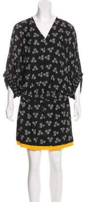 Diane von Furstenberg Meiko Band Silk Dress w/ Tags