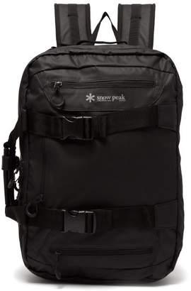 Snow Peak - 3 Way Nylon Backpack - Mens - Black
