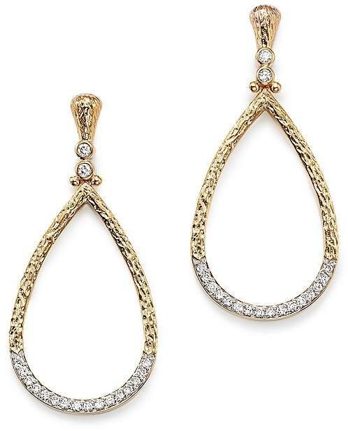 Bloomingdale's Diamond Teardrop Shape Earrings in 14K Yellow Gold, .70 ct. t.w. - 100% Exclusive