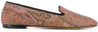 Etro paisley pattern loafers