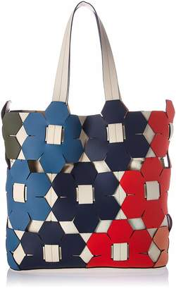 Zac Posen Eartha Tote Rainbow Floral