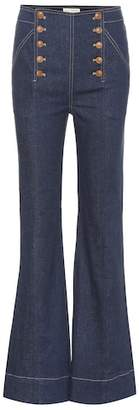 Ulla Johnson Ashton high-rise jeans