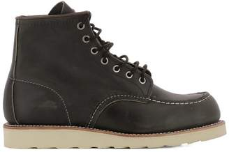 Red Wing Shoes Black Leather Ankle Boots