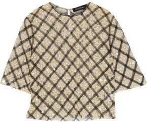 Jenny Packham Embellished Tulle T-Shirt