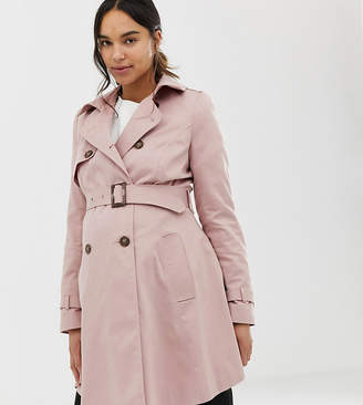 Asos DESIGN Maternity trench coat
