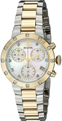 Bulova Diamonds Maiden Lane - 98R209 $550 thestylecure.com