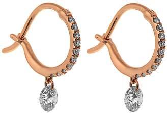 RAPHAELE CANOT Set Free diamond & pink-gold earrings