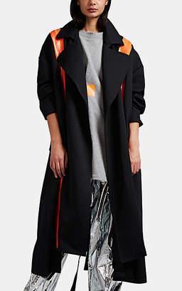 Maison Margiela Women's Sateen Trench Coat - Black