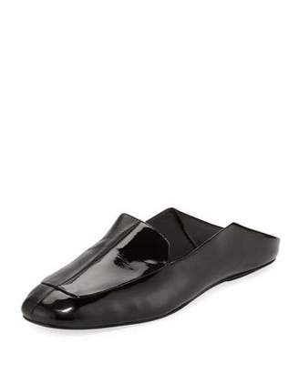 Tibi Cecil Patent Calf Slide Loafer