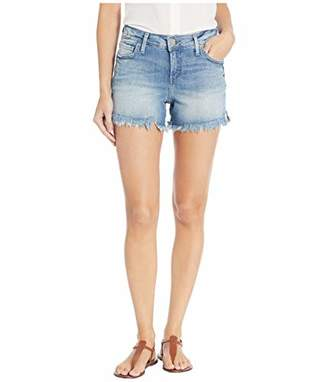 Silver Jeans Co. Women's Elyse Relaxed Fit Mid Rise Short