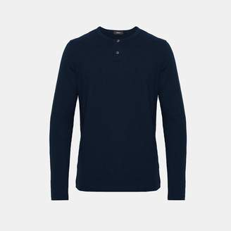 Theory Cotton Henley Shirt