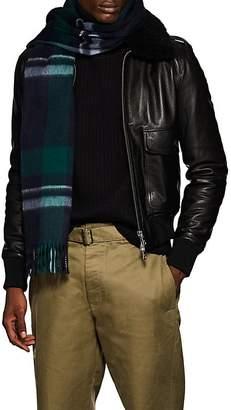 Barneys New York Men's Jura Plaid Wool-Angora Scarf
