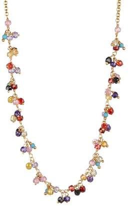 Chan Luu 18K Gold Plated Sterling Silver Crystal Beaded Necklace