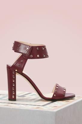 Jimmy Choo Veto 100 calf sandals