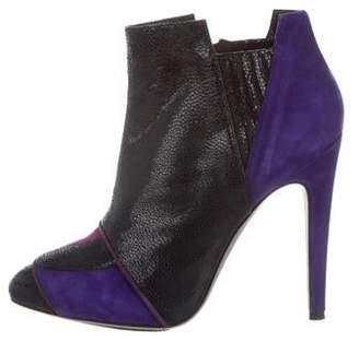 Aperlaï Suede Ankle Boots
