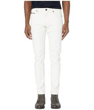John Varvatos Collection Chelsea Zipper Fly Ulta Slim Fit Jeans in White J332ZV1