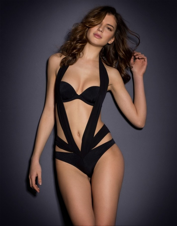 Agent ProvocateurLyssandra Swimsuit Black