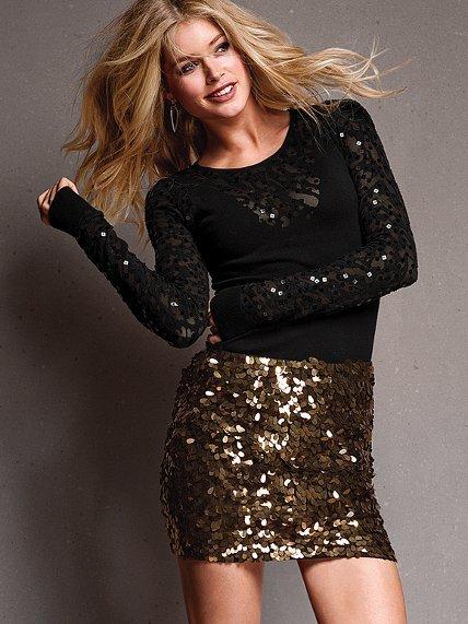 Victoria's Secret Paillette Miniskirt