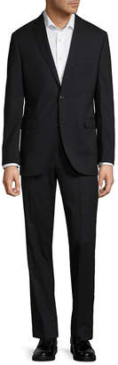 Saks Fifth Avenue Timeless Trim Fit Wool Suit