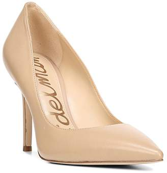 Sam Edelman Women's Hazel Pointed Toe Leather High-Heel Pumps