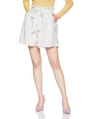 dazzlin (ダズリン) - [ダズリン] パンツ 【S】ウエストフリルショートパンツ レディース 021920700301 オフホワイト 日本 M (日本サイズM相当)