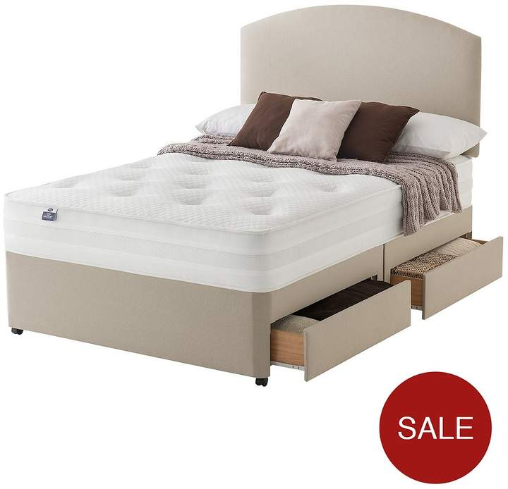 Mirapocket Penny 1200 Deluxe Tufted Divan With Optional Storage And Half-Price Headboard Offer