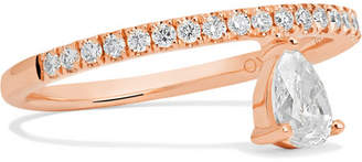Anita Ko Duchess 18-karat Rose Gold Diamond Ring