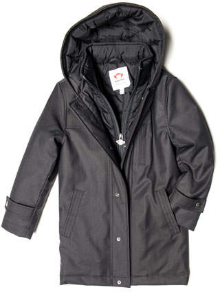 Appaman Gotham Hooded Coat, Size 4-14