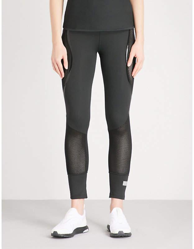 Run ultra-tight stretch-jersey leggings