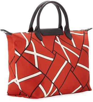 Longchamp Le Pliage Neo Geo Top Handle Bag