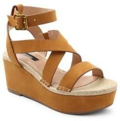 Kensie Trinity Ankle-Strap Platform Sandals