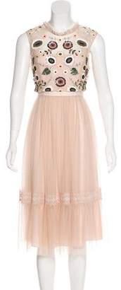 Needle & Thread Embellished Midi Dress