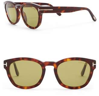 Tom Ford Bryan 51mm Round Sunglasses