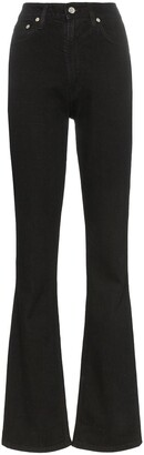 Helmut Lang high-waisted straight-fit jeans