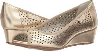 Anne Klein AK Sport Women's Cadwyn Peeptoe Wedge Pump