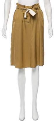 Schumacher Dorothee Belted Knee-Length Skirt