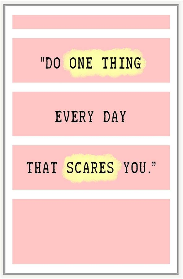 Do One Thing (Framed Giclee)