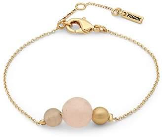 Pilgrim Women Gold Plated Strand Bracelet - 601832702