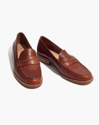 Madewell The Elinor Loafer in Leather