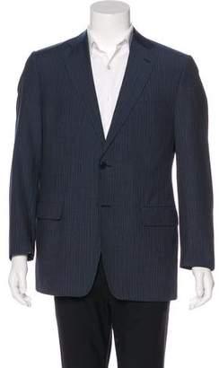 Versace Wool Two-Button Blazer