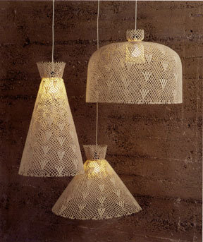 Roost Clearance - Crochet Pendant Lamps