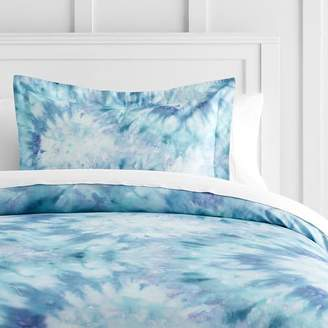 Pottery Barn Teen Tie Dye Dreams Duvet Cover, Twin/Twin XL, Cool Multi