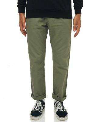 rhythm New Men's Fatigue Mens Pant Cotton Green
