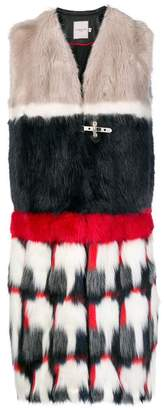 Urban Code Urbancode faux fur sleeveless coat