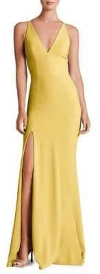 Dress the Population Iris Slit Evening Gown