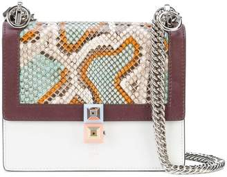 Fendi mini kan I python bag