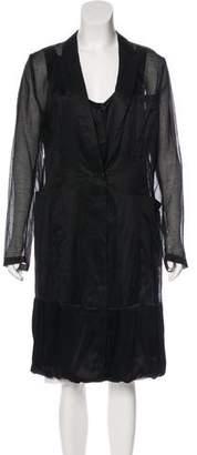 Dries Van Noten Layered Knee-Length Coat