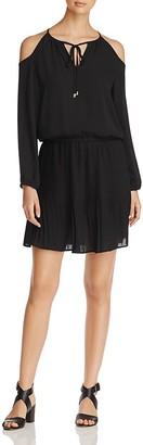 Alison Andrews Cold Shoulder Peasant Dress $98 thestylecure.com