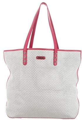 Rebecca Minkoff Leather Perforated Tote