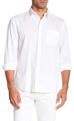 Quiksilver Collared Long Sleeve Modern Fit Woven Shirt